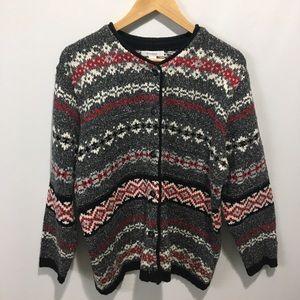 Dress barn heavy knit cardigan sweater. Size 2X